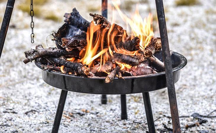 firewood bbq