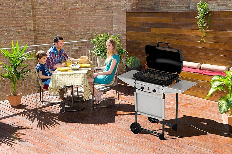 Campingaz Expert Plus, the most powerful volcanic stone barbecue